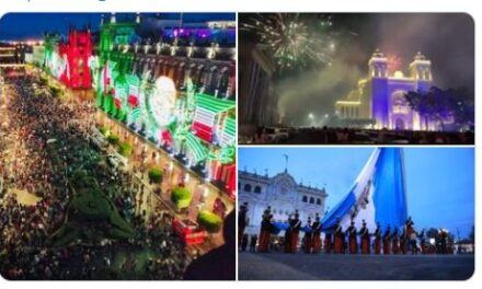 Tuiteros analizan las Fiestas Patrias de Guatemala, México y El Salvador