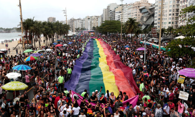 Marcha LGBT en Río de Janeiro desafía el conservadurismo