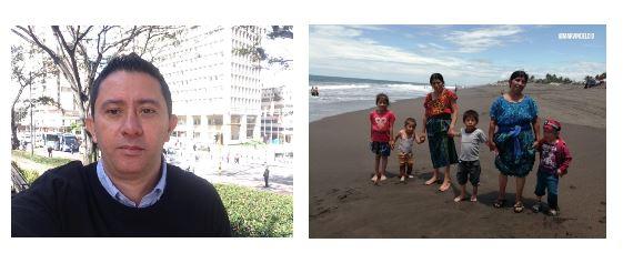 El periodista y los niños que conocieron el mar