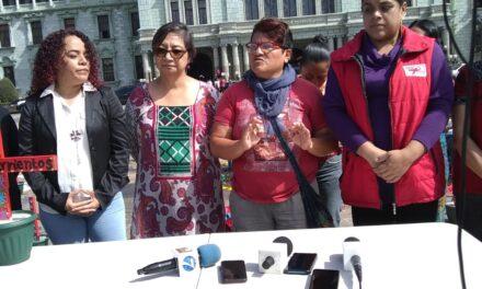 ¡Mujeres se plantan frente al Ministro de Cultura!