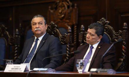 Continuaron las audiencias de la Comisión anti cicig del Congreso