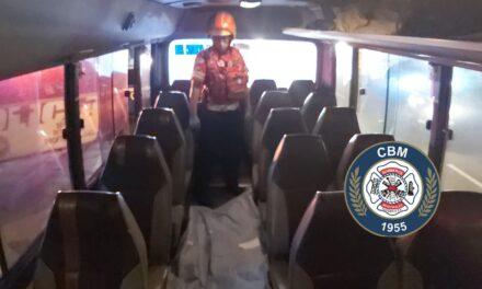 Diversos hechos de emergencia fueron atendidos anoche por los Bomberos