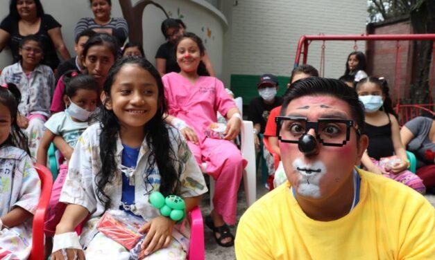 Colores y alegría en este Día del Niño en el Hospital San Juan de Dios