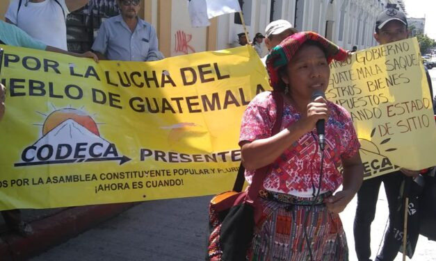 Thelma Cabrera: «Las políticas extractivas afectan desde la niñez»