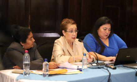 ¿Qué dijo Blanca Stalling en la Comisión Anticicig?