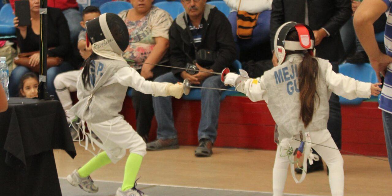 Por primera vez la categoría infantil participará en los Juegos Nacionales de Esgrima
