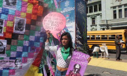 Mujeres guatemaltecas salen a las calles para exigir el cese a la violencia