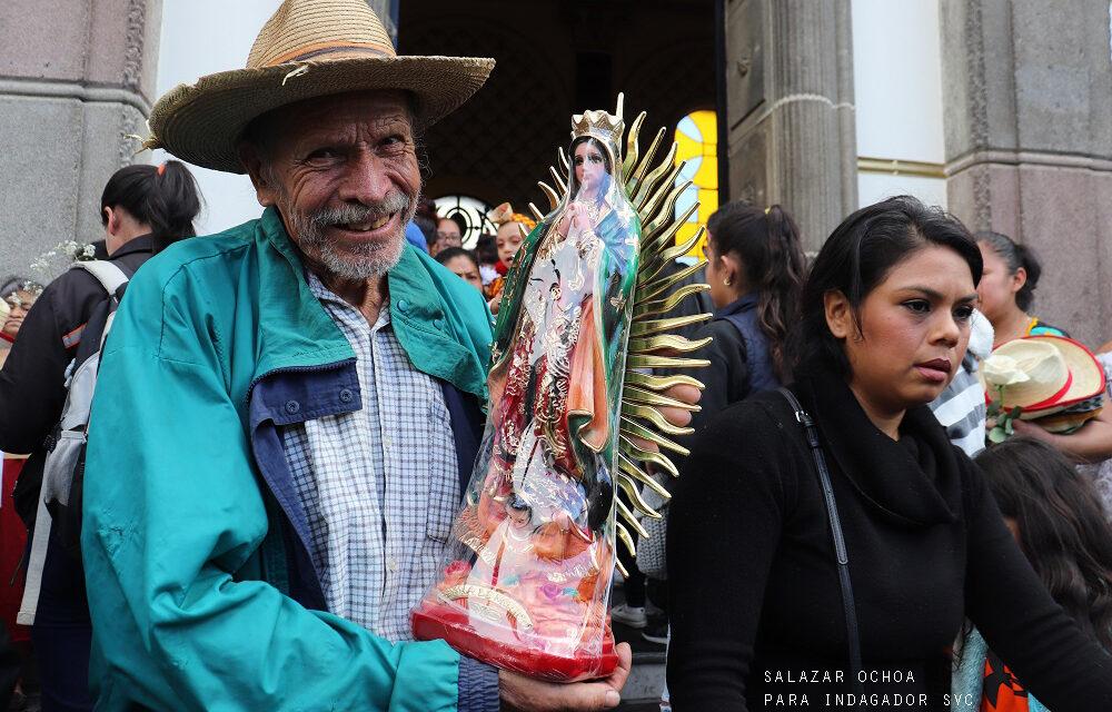 Fotogalería: Así celebró Guatemala a la Morenita del Tepeyac