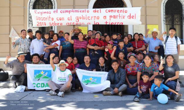 Fotogalería: Vecinos de Cajolá demandan las tierras prometidas por el vicepresidente Jafeth Cabrera