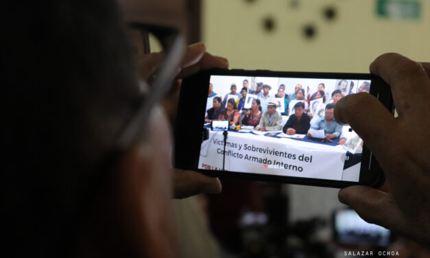 Fotogaleria: Víctimas del Conflicto Armado Interno en el Día Internacional de los Derechos Humanos