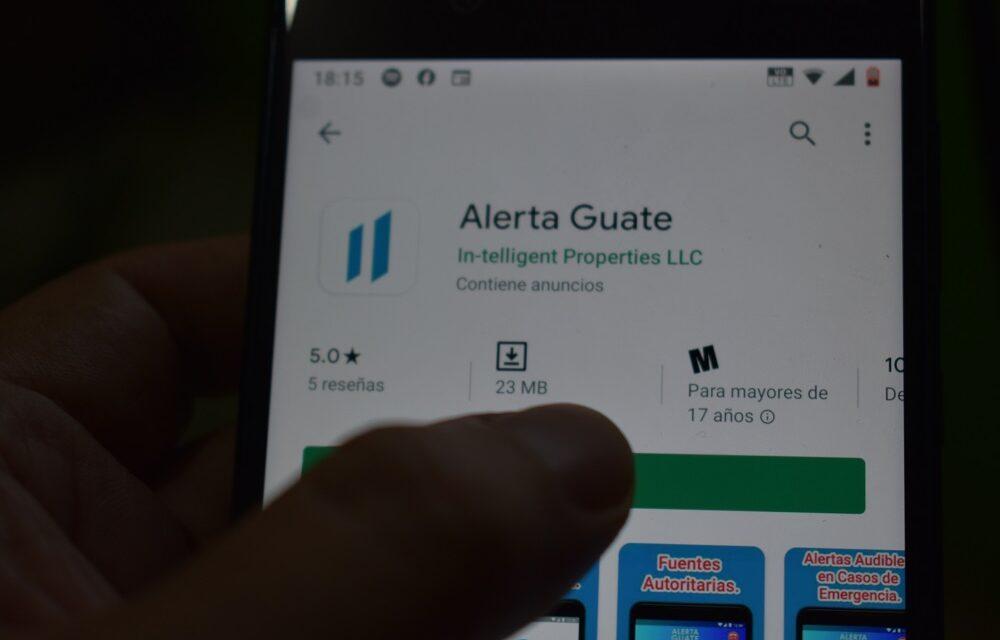 Qué ofertón: Alerta Guate la nueva aplicación del Gobierno de Guatemala