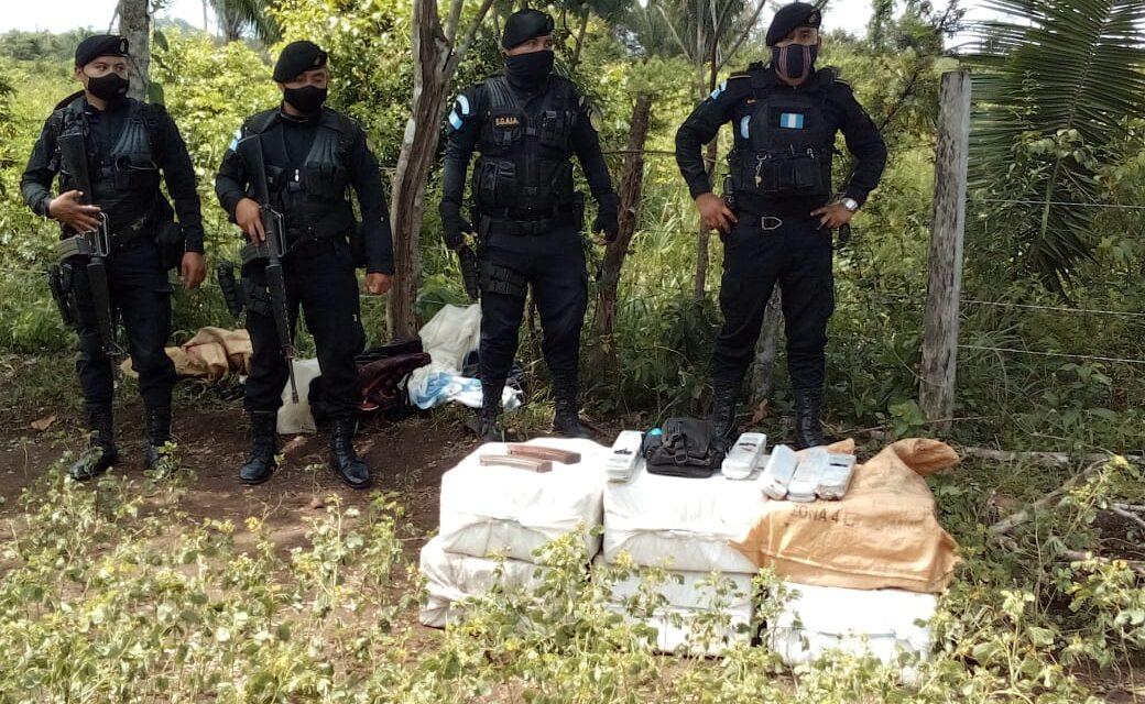 PNC y ejército de Guatemala dan un contundente golpe al narcotráfico