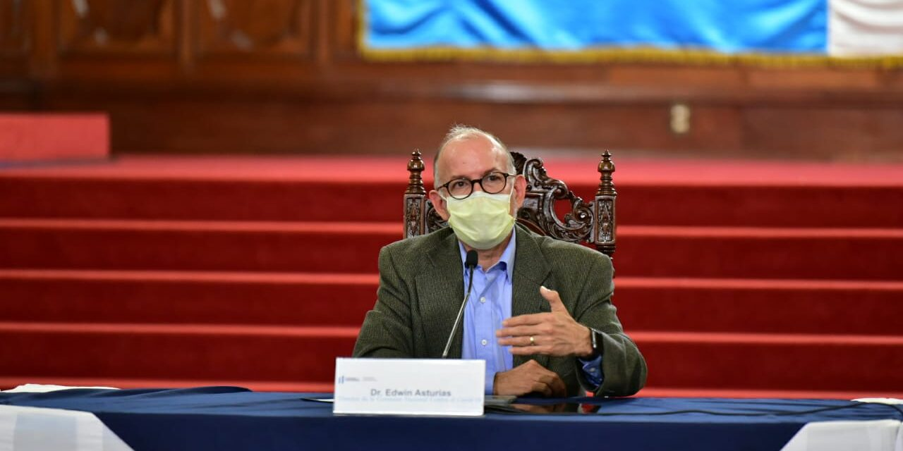 """Asturias: """"Covid-19 seguirá en Guatemala todo el 2021"""""""