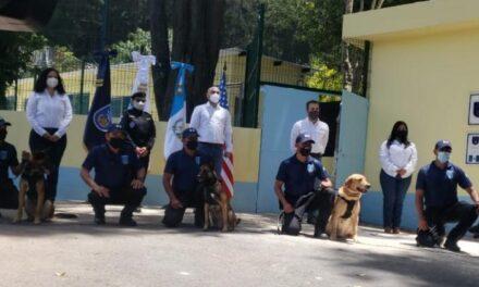 Inauguran unidad canina en la Secretaría de Bienestar Social (SBS)