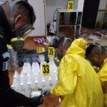 Localizan y desmantelan narco laboratorio en Ayutla, San Marcos