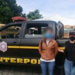 Quería sacarle la vuelta a la justicia guatemalteca, pero la agarraron en México