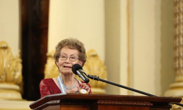 Fallece María Teresa Martínez, leyenda del teatro en Guatemala