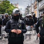 Tácticas de contrainsurgencia militar para deslegitimar una manifestación