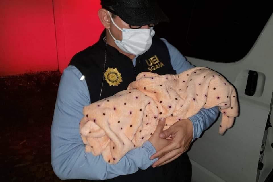 PNC recupera a recién nacida robada