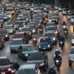 Fuerte carga vehicular será una constante en Guatemala esta semana