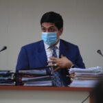 Presentan solicitud de antejuicio contra el juez Mynor Moto