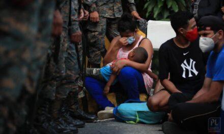 Se aproxima una nueva caravana migrante desde Honduras