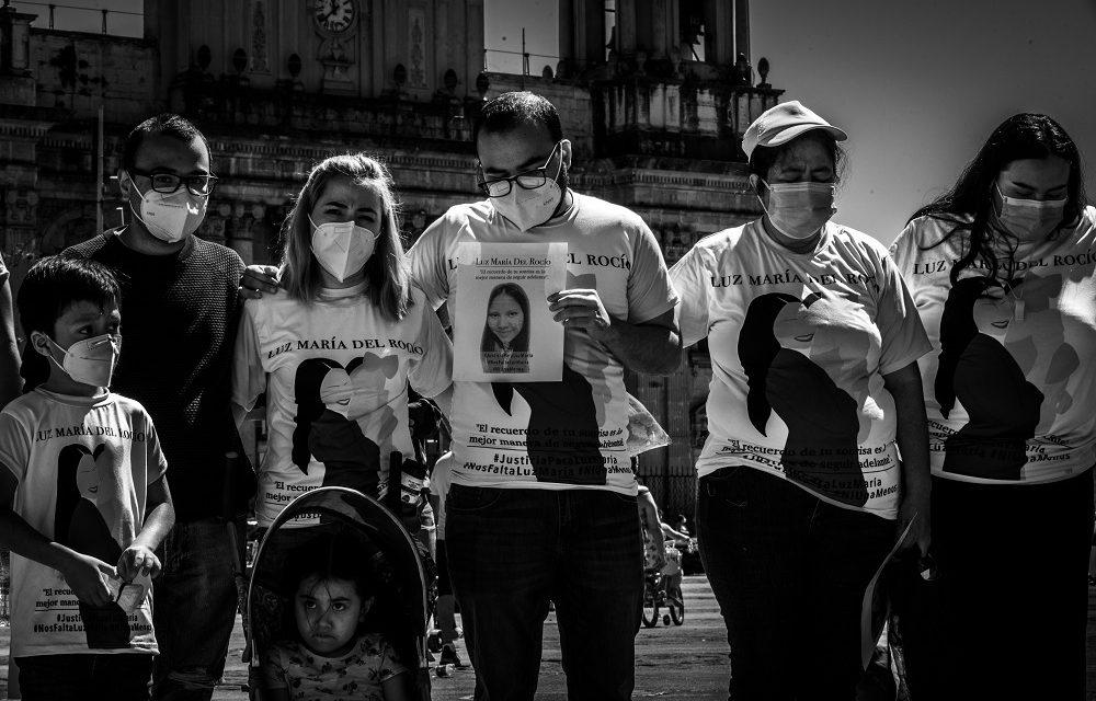 Luz María, una víctima de la violencia machista en Guatemala