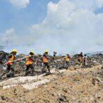 Contaminación por incendio en vertedero un grave riesgo para la salud