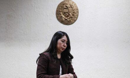 Estados Unidos reconoce trabajo de jueza Erika Aifán