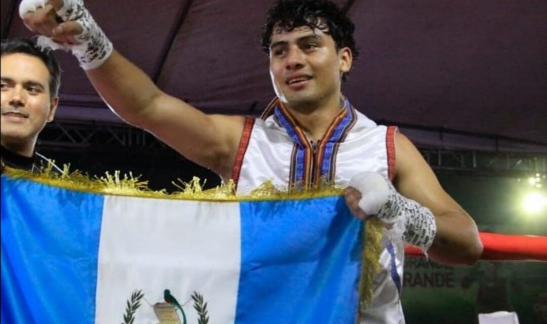 Un campeón guatemalteco de boxeo con sed de Juegos Olímpicos