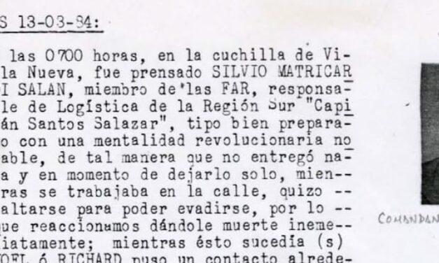"""Chafarotes sádicos enchachados por el caso """"Diario Militar"""""""