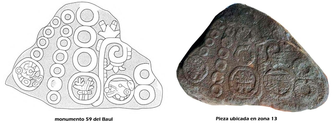 Hallazgo milagroso de ripio prehispánico