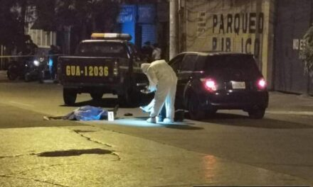 Buscan enhebrar a agente de la PNC asesino