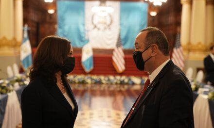 Algunos apuntes sobre la visita de Kamala a Guatemala