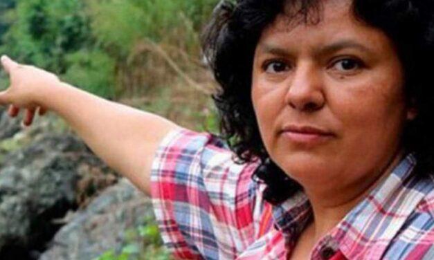 Justicia por el asesinato de la ambientalista Berta Cáceres