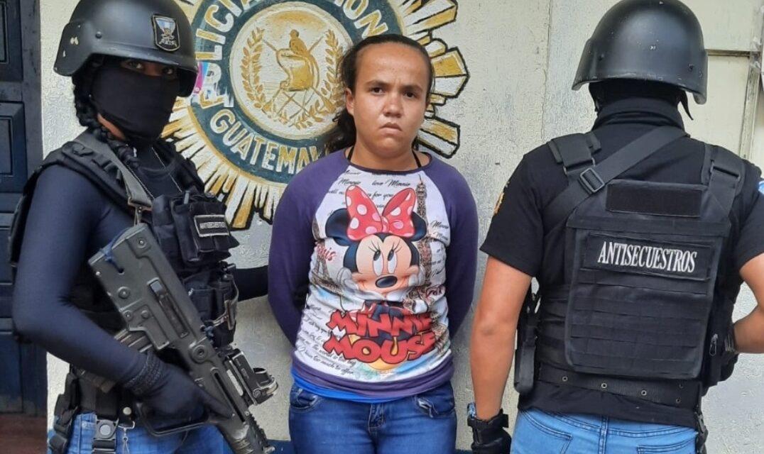 Capturada después de fingir su propio secuestro