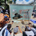 Protestas en San Salvador contra Bukele