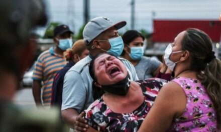 Familiares de presos en Ecuador la están viendo peluda